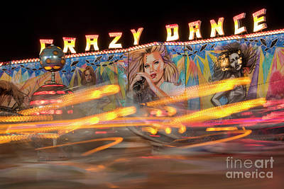 Funfair Photograph - Crazy Dance by Juli Scalzi