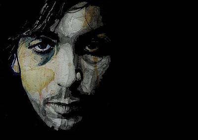 Painting - Crazy Diamond - Syd Barrett  by Paul Lovering