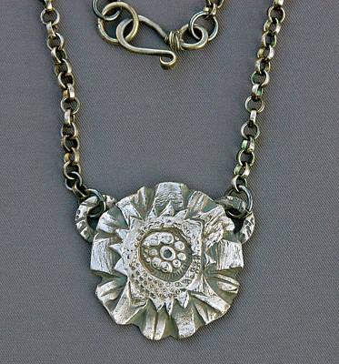 Pmc Jewelry - Crazy Egg Basket Pendant by Mirinda Kossoff