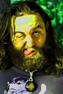 Photograph - Crazy  Face -  Ver. 4 by William Meemken