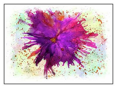 Painting - Crazy Flower 5 by Lilia D