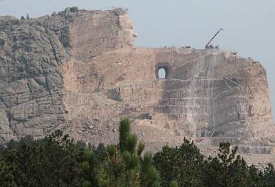 Photograph - Crazy Horse by Christopher Kirby