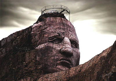 Photograph - Crazy Horse by Jeremy Martinson