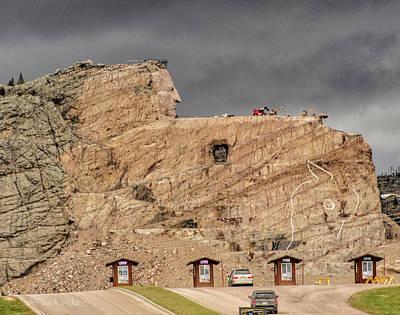 Photograph - ...entrance Crazy Horse Memorial South Dakota.... by Paul Vitko