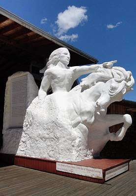 Photograph - Crazy Horse Model by Anne Sands