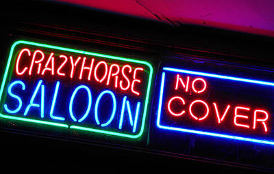 Photograph - Crazy Horse Saloon by Elizabeth Hoskinson