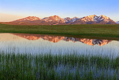 Photograph - Crazy Mountain Reflections by Jack Bell