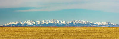 Crazy Mountains And Plains Art Print by Todd Klassy