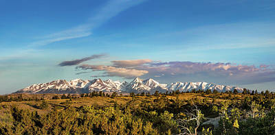 Terrain Photograph - Crazy Mountains by Todd Klassy