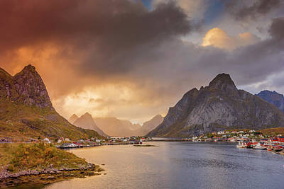 Photograph - Crazy Sunset In Lofoten by Alex Conu