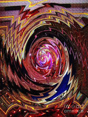 Photograph - Crazy Swirl Art by Sue Melvin
