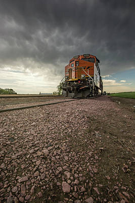 Photograph - Crazy Train by Aaron J Groen