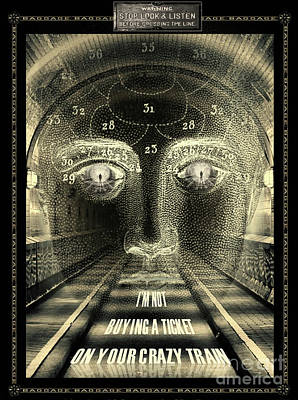 Crazy Train Art Print
