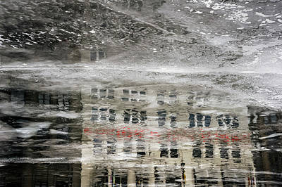 Abstract Graphics - Cream City Cold by Scott Norris