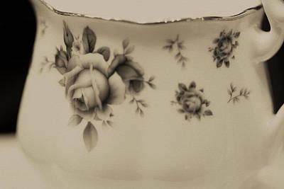 Cream Photograph - Cream Jug by The Art Of Marilyn Ridoutt-Greene