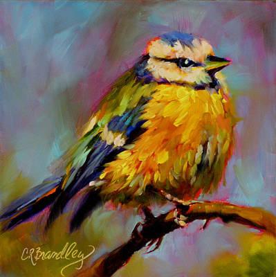 Painting - Cream Puff by Chris Brandley