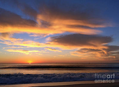 Photograph - Creamsicle Clouds IIi by Mary Haber