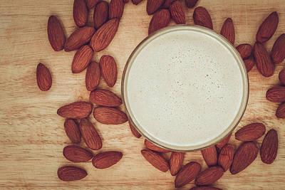 Photograph - Creamy Nut Butter Protein Blast by Yvette Van Teeffelen