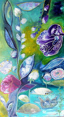 Wall Art - Painting - Create Your Life by Carol Iyer