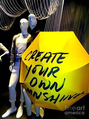 Photograph - Create Your Own Sunshine by Ed Weidman