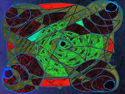 Drawing - Creating Infinity by Dorothy Berry-Lound