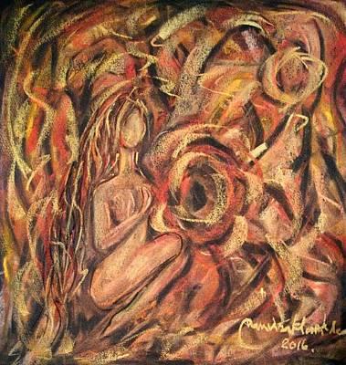 Painting - Creating Your Self by Wanvisa Klawklean