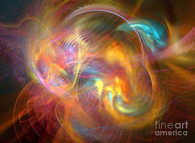 Digital Art - Creation 3 by Helene Kippert