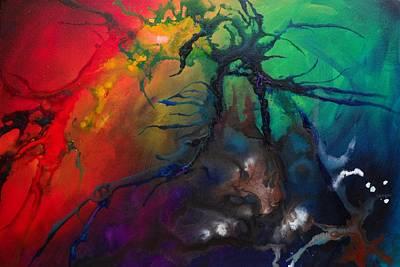 Cosmic Painting - Creation by Darlene M Keeffe