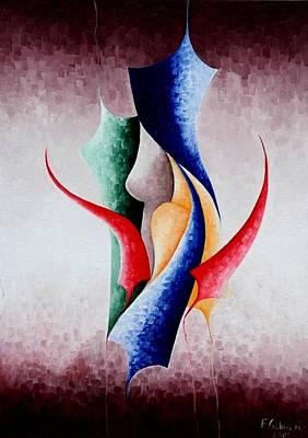 Creation Art Print by Fatma Gulnar