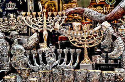 Hanukkah Digital Art - Creation Of Light by Starlite Studio