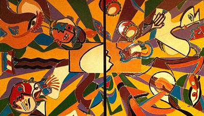 Painting - Creation by Ray Khalife