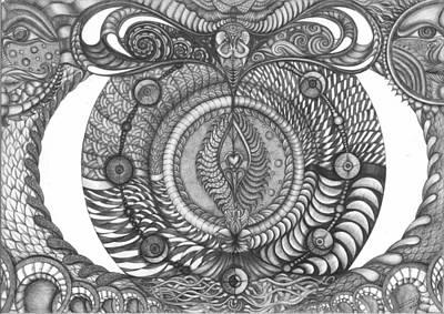 Creation Art Print by Saveena Luck
