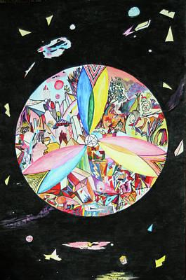 Mixed Media - Creation by Steve Karol