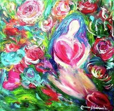 Painting - Creative By The Heart by Wanvisa Klawklean
