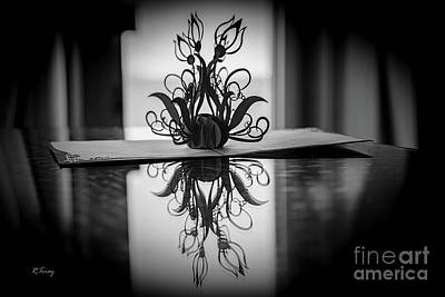 Photograph - Creative Cuts And Flower Folds by Rene Triay Photography