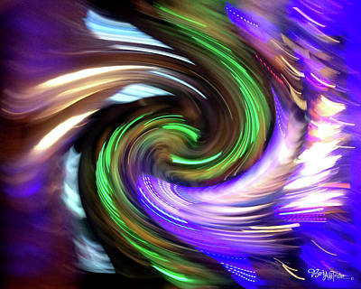 Photograph - Creative Energy In Motion #0609_21 by Barbara Tristan