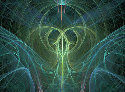 Digital Art - Creative Energy by Ronda Broatch