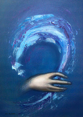 Wave Painting - Creative Inspiration by Kevin Middleton