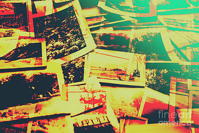 Creative Retro Film Photography Background Art Print