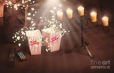 Creative Still Life Home Entertainment Photo Art Print by Jorgo Photography - Wall Art Gallery