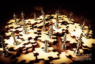 Puzzles Photograph - Creative Strategy by Jorgo Photography - Wall Art Gallery