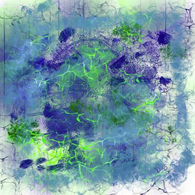 Digital Art - Creativity by Dick Bourgault