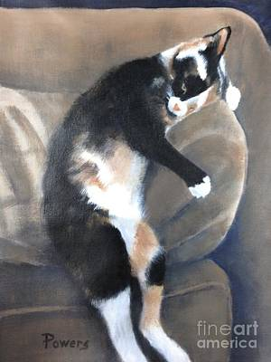 Painting - Creature Comfort by Mary Lynne Powers