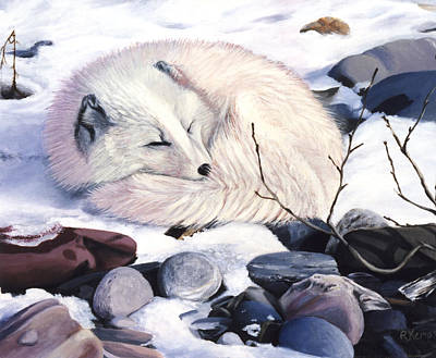 Painting - Creature Comforts by Rebeca Gallant