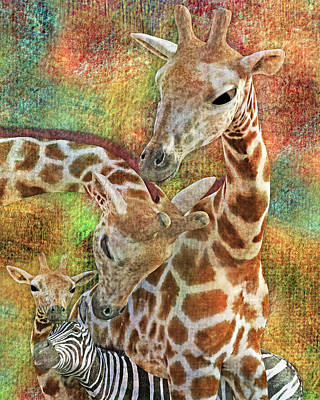 Creatures Great And Small Art Print by Betsy Knapp