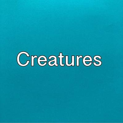 Painting - Creatures Logo by Darice Machel McGuire