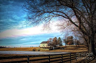 Photograph - Crebilly Farm, West Chester, Pennsylvania Usa by Polly Peacock
