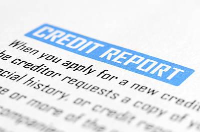 Credit Report Attorney Art Print