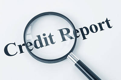Report Mixed Media - Credit Report Attorney In Alexandria Va by Baney