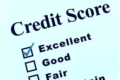 Report Mixed Media - Credit Score by Baney
